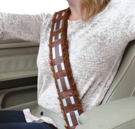 Star Wars Gurtpolster im Chewbacca Design Sicherheitsgurtpolster für Kinder und Erwachsene Nerdgeschenk 2