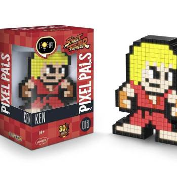 #16 Street Fighter – Ken 016 Die gesamte Pixel Pals Collection