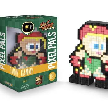 #21 Street Fighter – Cammy 021 Die gesamte Pixel Pals Collection