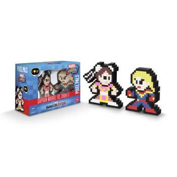 #41 Marvel vs. Capcom – Captain Marvel vs. Chun Li 041 Die gesamte Pixel Pals Collection
