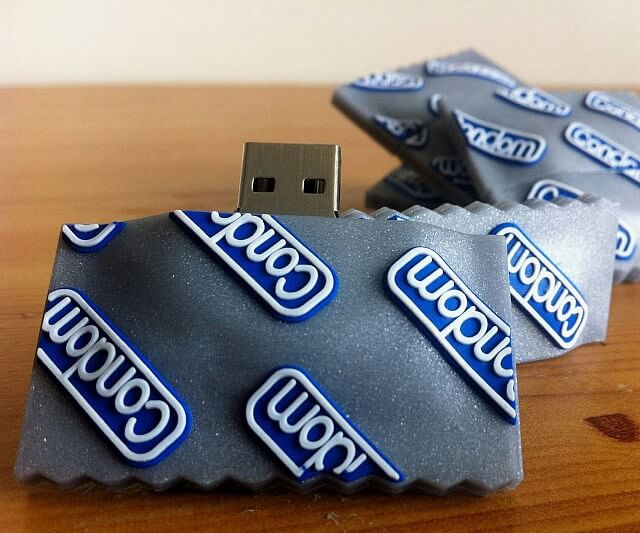 Kondom USB-Stick