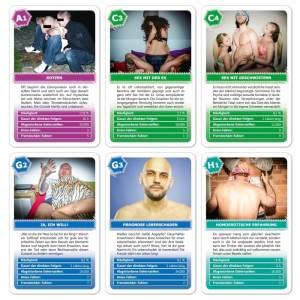 Quartett für Männer Männerquartette Kartenspiel für Männer Männerspielzeug Männerabend Männerspiele Spielzeug für Männer