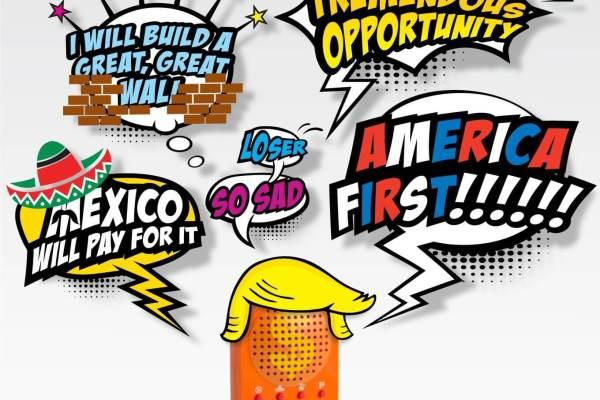 Donald Trump Sound-Machine richtig gequirlte Kacke von euch geben 2