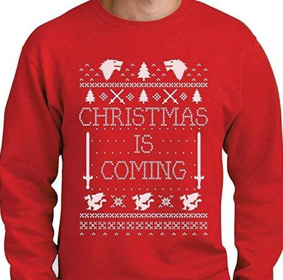 Winter in coming Pullover Vorweihnachtsgeschenk Weihnachtsstimmung bekommen