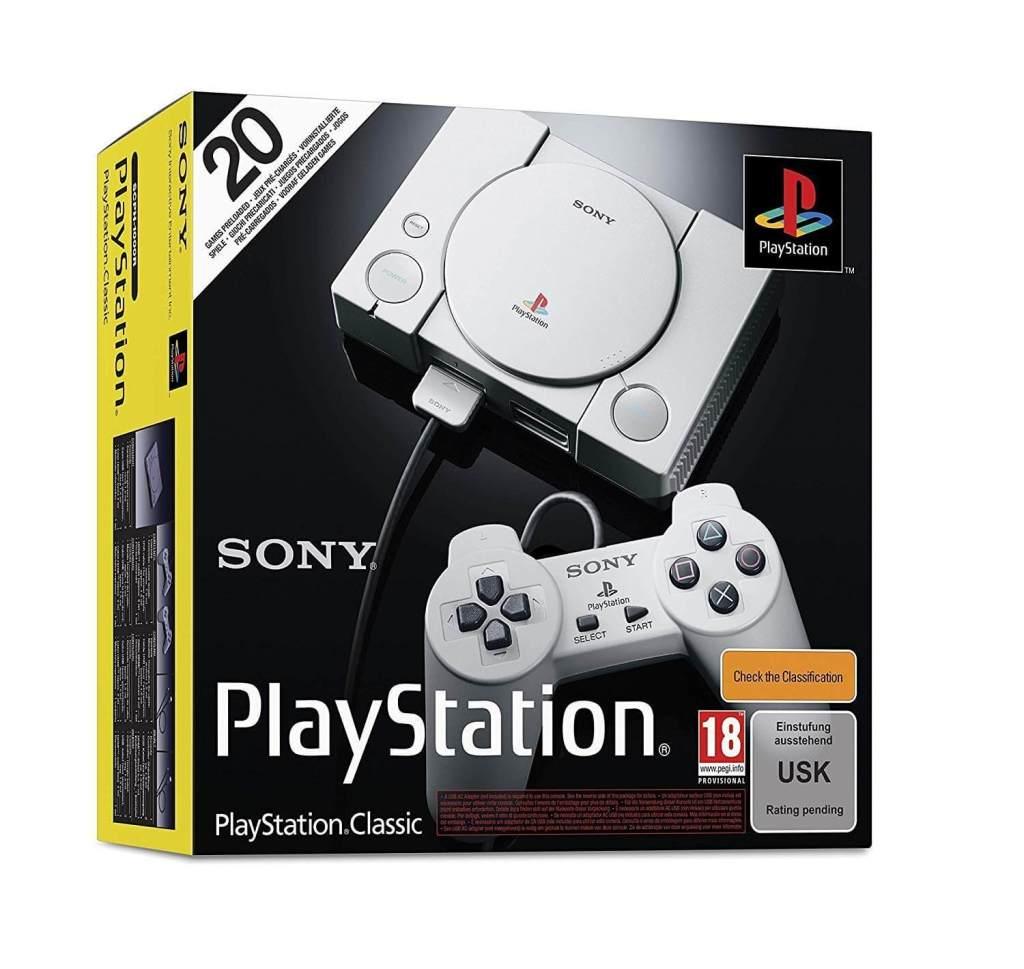 Die 4 besten Mini-Retro-Konsolen – 110% Liebe! www.was-maenner-wollen.de PSone PS1 PSX Playstation Classic günstig kaufen Männerspielzeug Männergeschenke kaufen