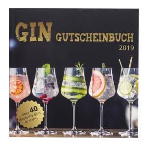 Gin Gutscheinbuch exklusives Geschenk für Gin-Profis