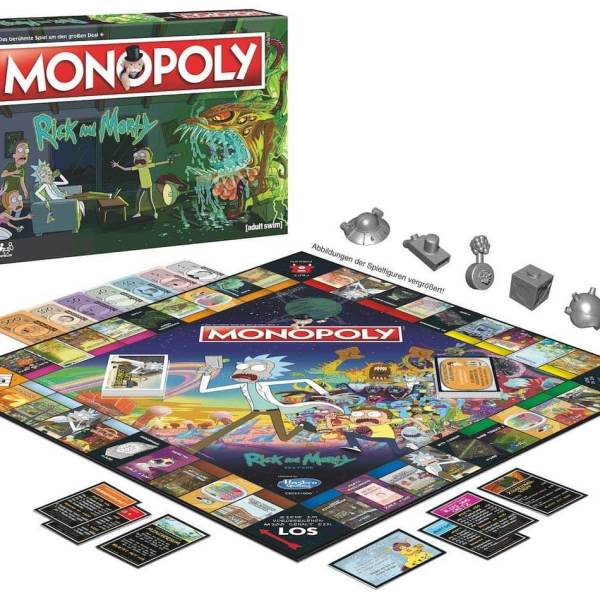 Monopoly Rick and Morty Edition 2