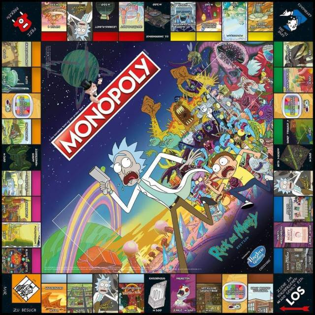 Monopoly Rick and Morty Edition 3