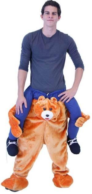 4 Carry Me Kostüme Bär mit Bierhalter, beste Auswahl an Carry Me Kostümen im Netz Teddybär