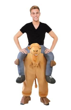 71 Carry Me Kostüm vom Kamel getragen Huckepack Kostüm Kamel Verkleidung Tierkostüm Piggyback Ride On auf den Schultern Faschings Karneval Kostüm Halloween JGA Junggesellenabschied