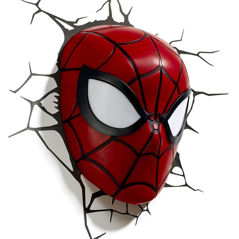 Superhelden 3D Wandleuchten – Optisch ein Highlight - Spiderman 3