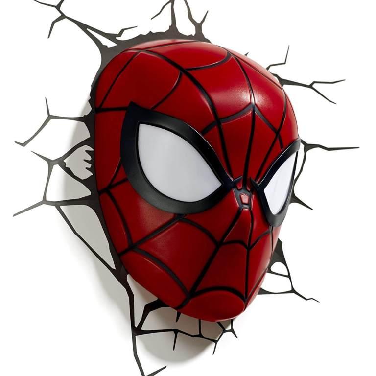Superhelden 3D Wandleuchten – Optisch ein Highlight - Spiderman 3