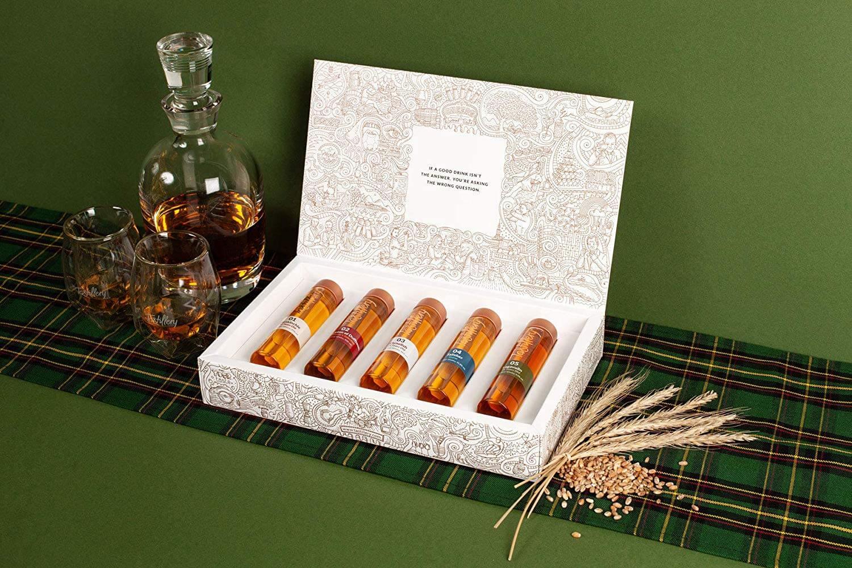 Whiskys zum Probieren im Set exklusiven Whisky-Sets für Kenner Schottland 1