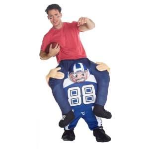 236 Carry Me Kostüm Football Spieler Huckepack Kostüm Footballspieler Verkleidung Fabelwesen Piggyback Ride On Faschings Karneval Kostüm Halloween Fastnacht JGA Carry Me Bestseller DIY
