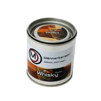 Männerkerzen - Kerzen für Männer - Duftkerzen für Männer - Männerdüfte - Düfte für Männer - Männliche Kerzen - Kerzen als Männergeschenk - Whisky Smoke - rauchig - rauchiger Whisky