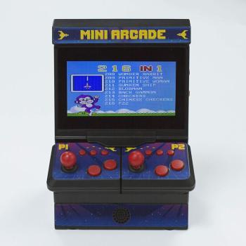 Dual Mini Arcade 300 8-Bit Spiele Retro Männergeschenk 4