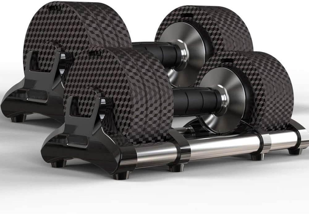 Designer intelligentes Hantelsystem - 6 bis 15 kg - Männergeschenk für Sportler