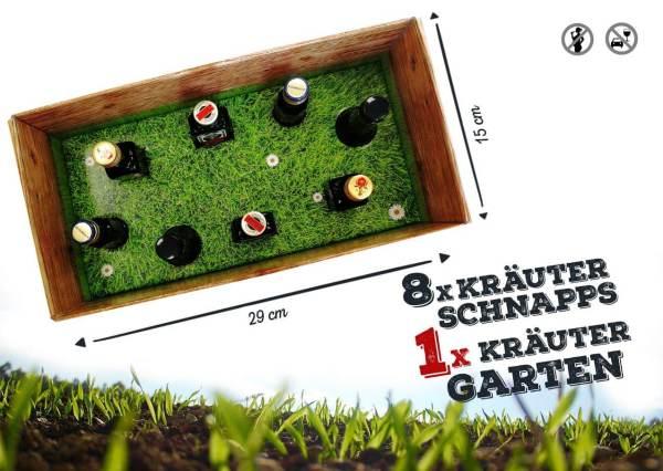 Männer-Kräutergarten Schnaps in der Box Alkohol männertaugliches Geschenk 3