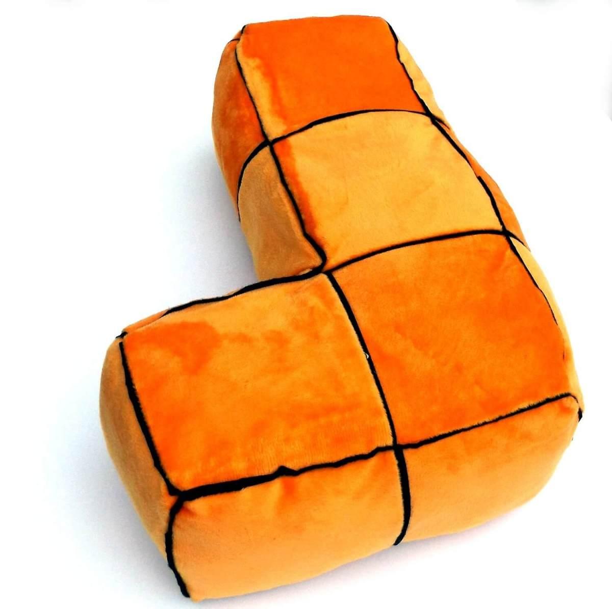 Tetris Kissen Geschenk für Gamer Tetris Stein Design 3