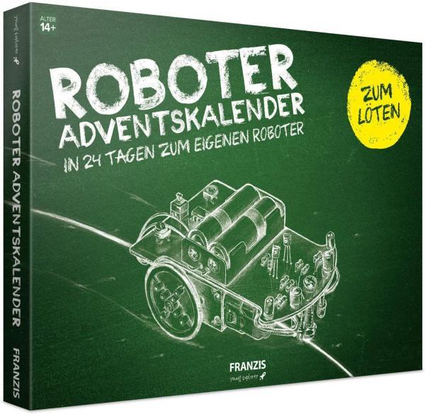 12 Roboter selber Bauen Adventskalender - Adventskalender für Bastler und Tütfler - Beste Auswahl an Adventskalender für Männer