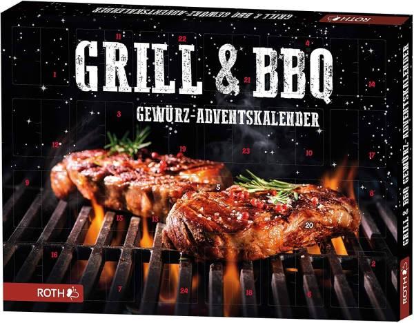 14 Grill und BBQ Gewürzkalender für echte Männer - Adventskalender für Grillmeister - große Auswahl an Männer Adventskalender