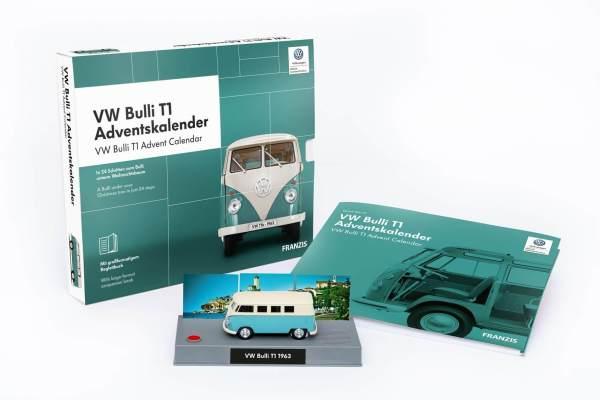 23 VW Bulli T1 Adventskalender für Männer - Adventskalender VW Bulli Fans - Beste Auswahl an Adventskalender für Männer