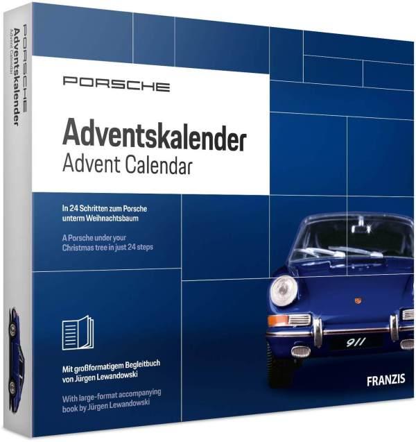 34 Porsche Bausatz als Adventskalender als Geschenk für den Mann - Vorweinachtliches Männergeschenk - Bester Adventskalender für den Mann