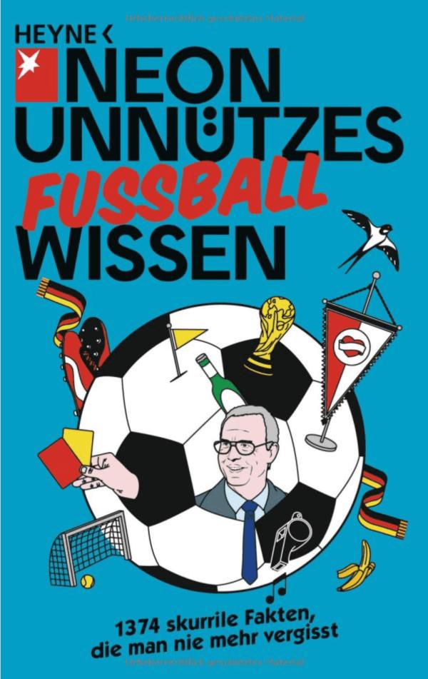 Unnützes Wissen Fußball für Fussballfreaks Buch für Fussballfans und Klugscheiser Titelbild