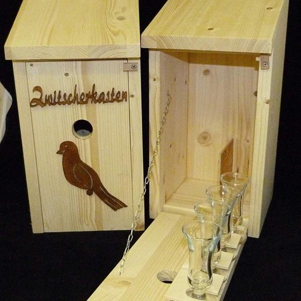 Zwischerkasten als Geschenke für den Schrebergarten