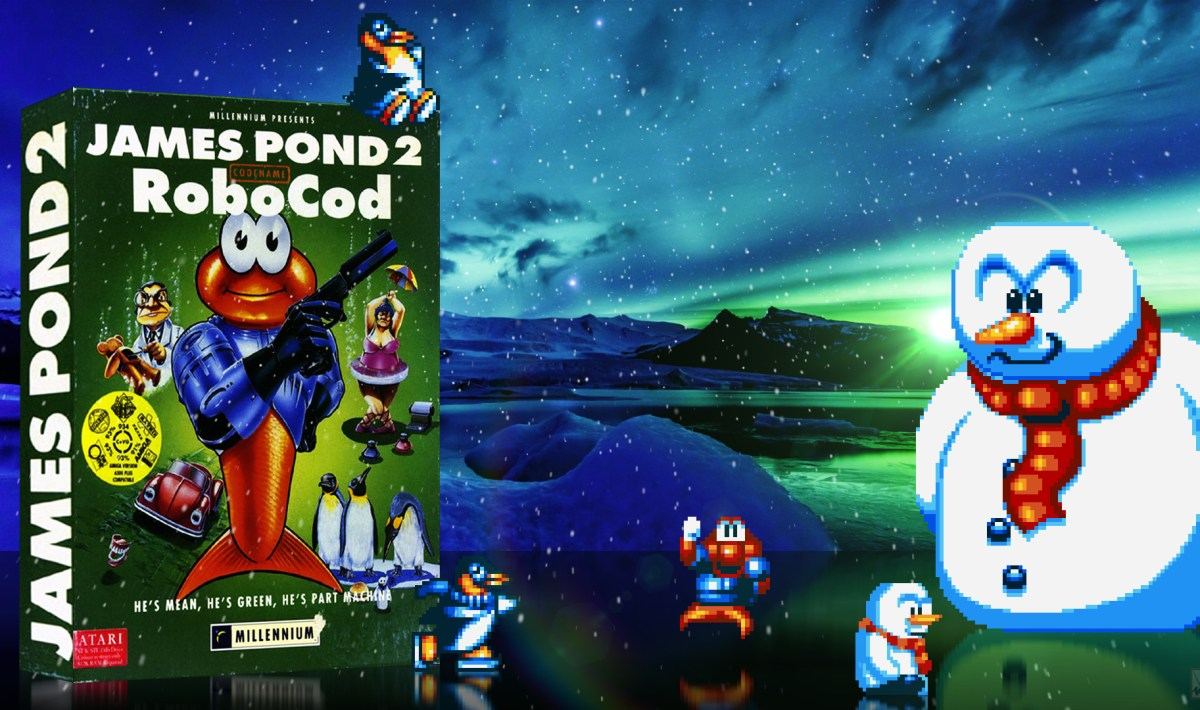 """James Pond II – Codename Robocod"" from Millennium"