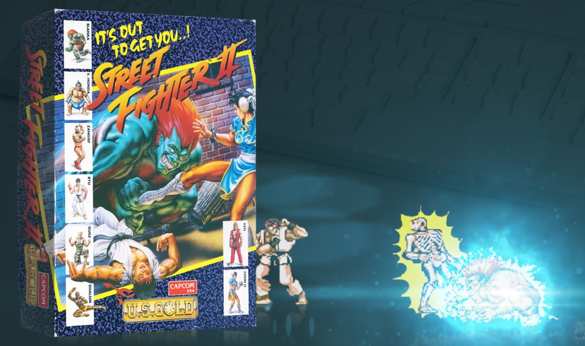"""Street Fighter II"" from Capcom"