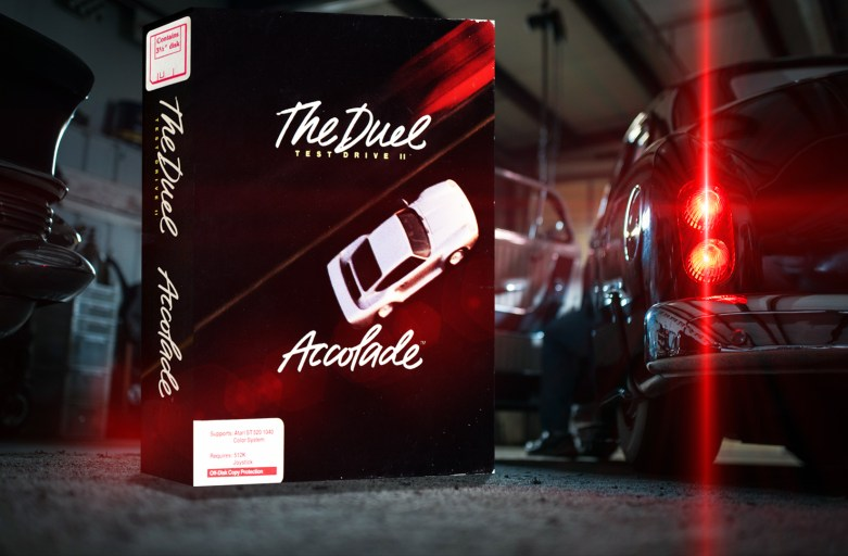 """Test Drive II - The Duel"" from Accolade"