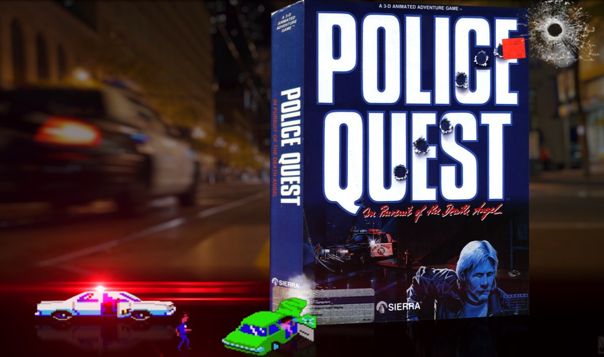 """Police Quest I"" from Sierra"