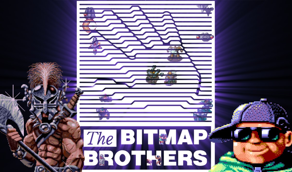 """Bitmap Brothers"" games on Atari ST"