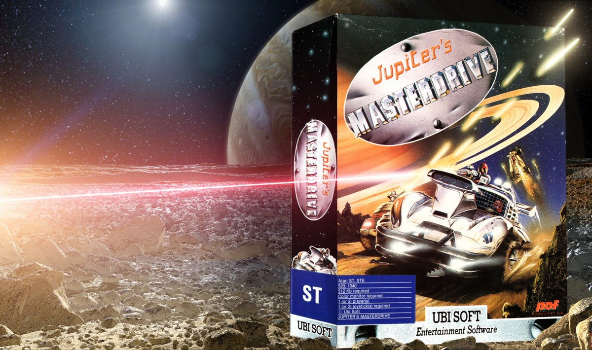 """Jupiter's Masterdrive"" from Ubi Soft"