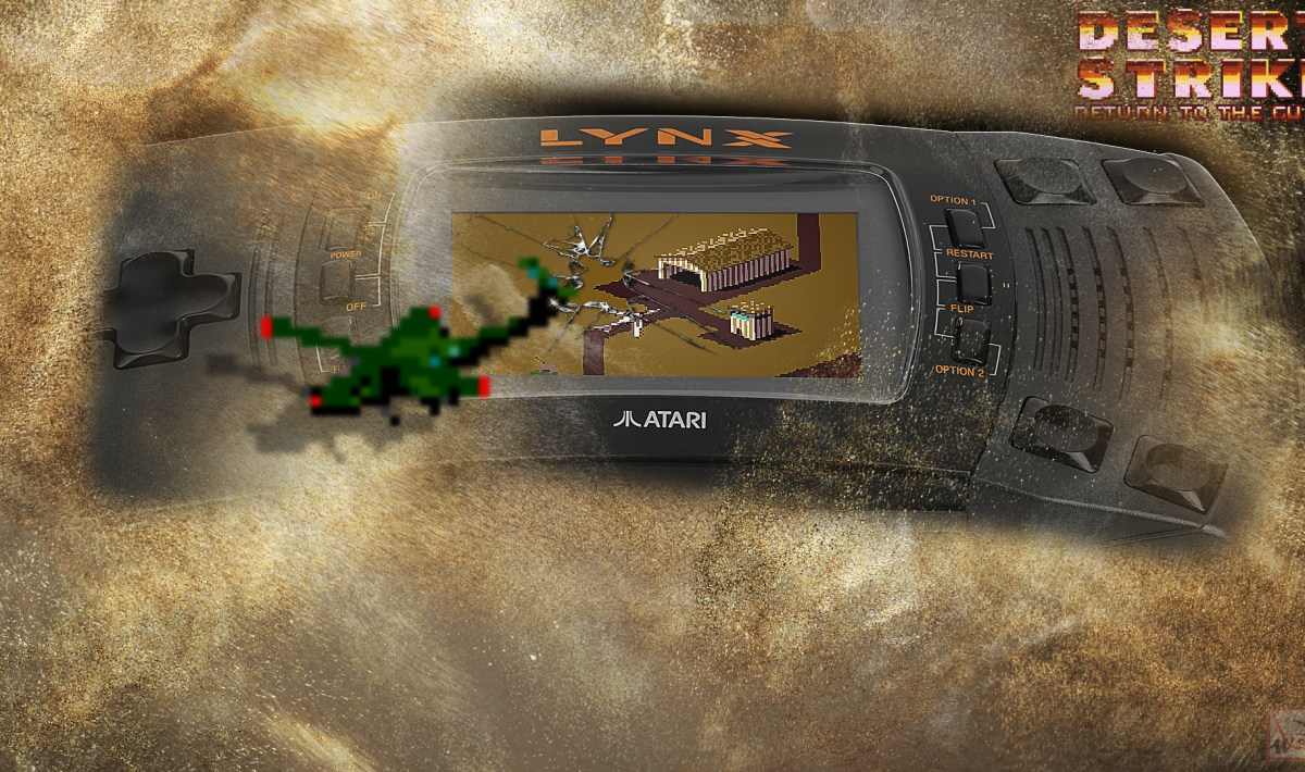"""Desert Strike"" on Lynx"