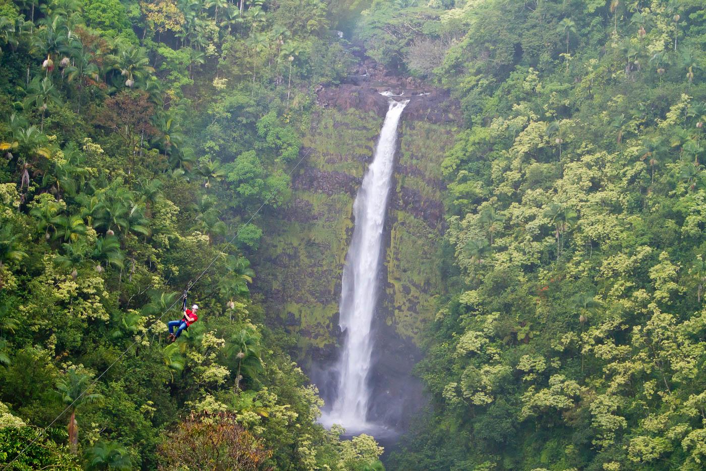 Zip and Volcano Combo | Wasabi Tours Hawaii