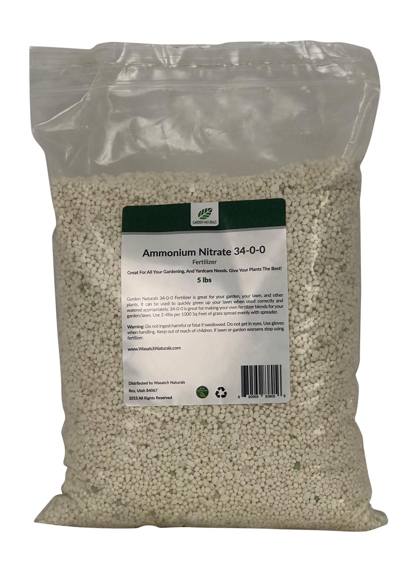 34-0-0-Ammonium-Nitrate-Garden-Naturals - Wasatch Naturals