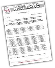 New Laws Bulletins