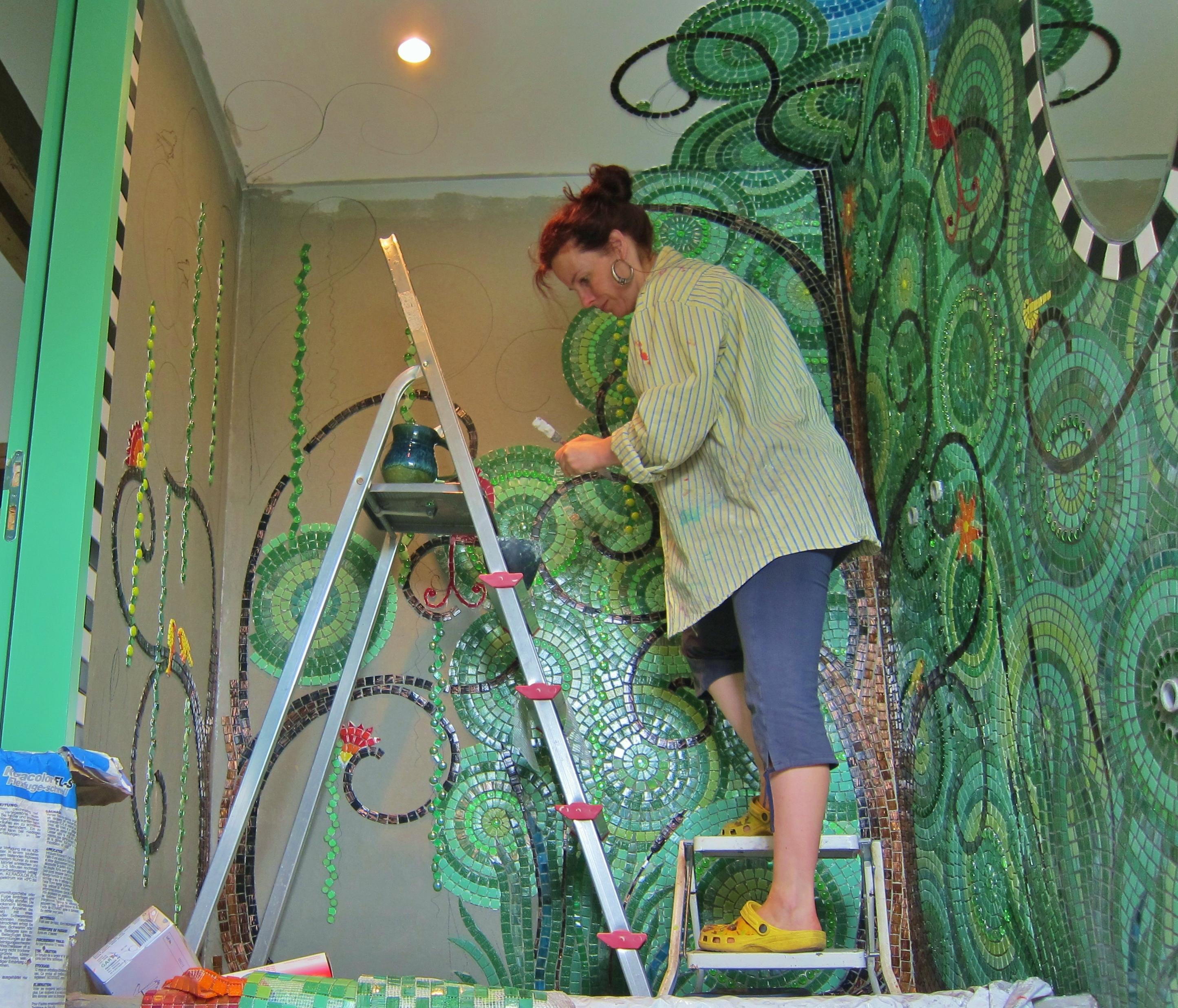 Frances Green - Mosaic Bathroom