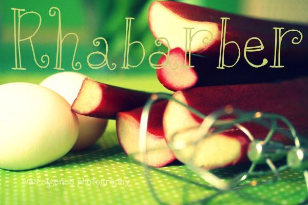 Rezept: Rhabarberkuchen mit Baiser | waseigenes.com