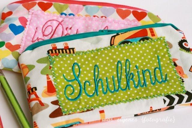 Federmäppchen | Schulkind | waseigenes.com Blog & Shop