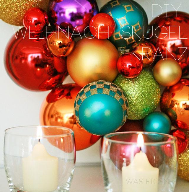 Diy einen weihnachtskugelkranz selber machen Dekoladen holland