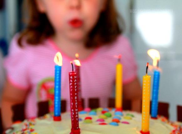 6. Geburtstag | Kinderriegel Torte | waseigenes.com