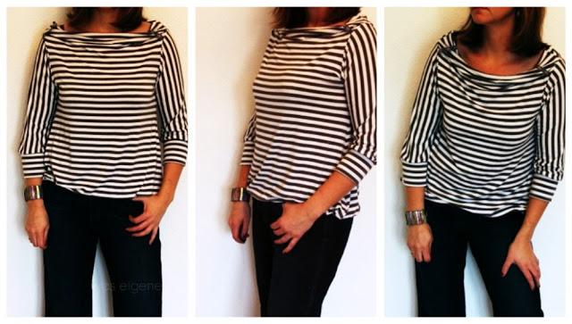 Lucille Shirt selber nähen | waseigenes.com