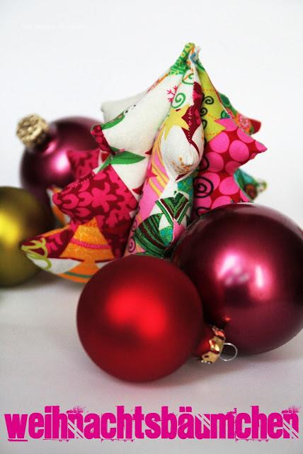 Weihnachtsbäumchen selbernähen | Schnittmuster & Anleitung | Farbenmix | was eigenes Blog