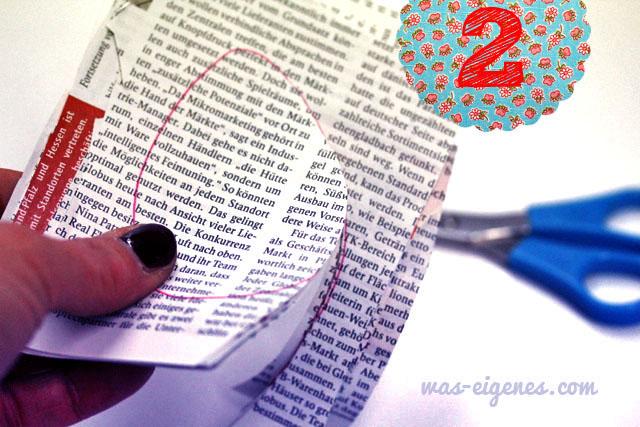 DIY Zeitungseier | Ostern | DIY | selber machen & nähen | waseigenes.com