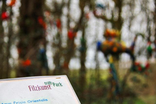 Filzkunst trifft Park   Greetsiel   waseigenes.com