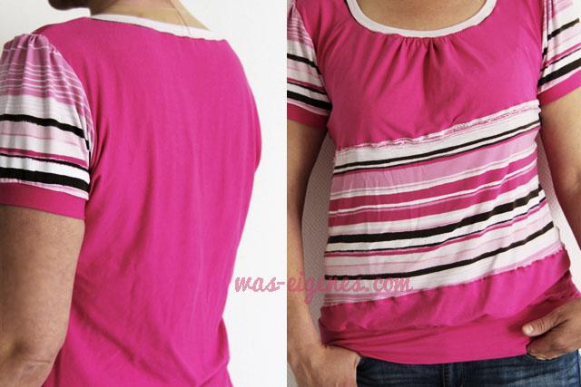 Shelly Shirt | Schnittmuster | Shirt selbernähen | was eigenes Blog