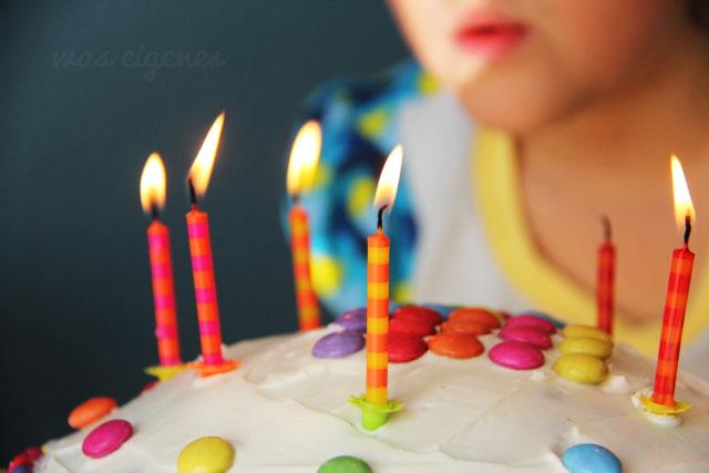 Geburtstag | Sieben | Kindergeburtstag | Kuchen | waseigenes.com